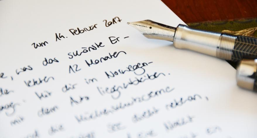 liebes brief schreiben